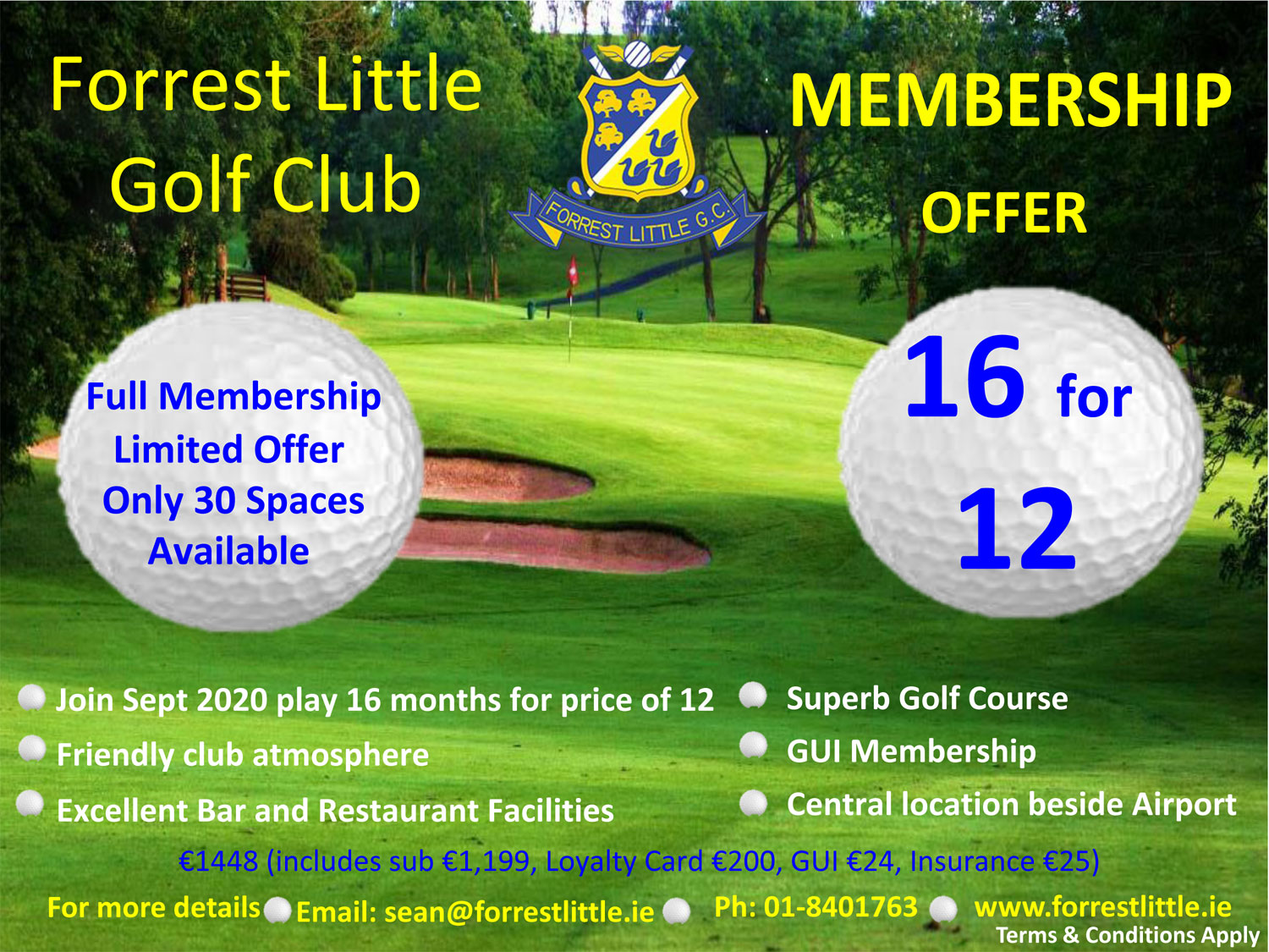 Forrest Little Membership Offer