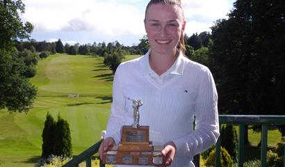 Julie McCarthy (Forrest Little) Ulster Girls' Open Champion 2016