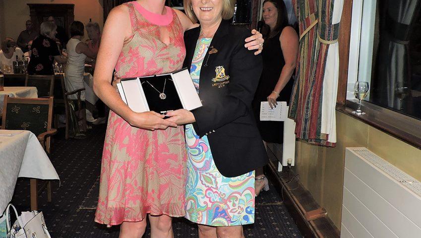Rachel McGivern Winner of the Lady Captain's ( Joyce Moran) Prize