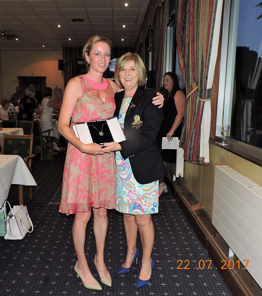 Rachel McGivern Winner of the Lady Captain's ( Joyce Moran) Prize