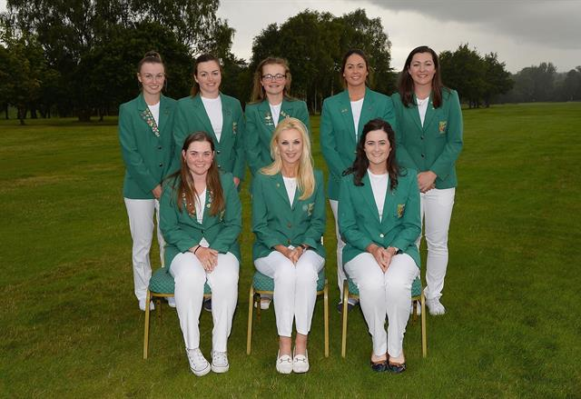 Irish Ladies winners of Home International