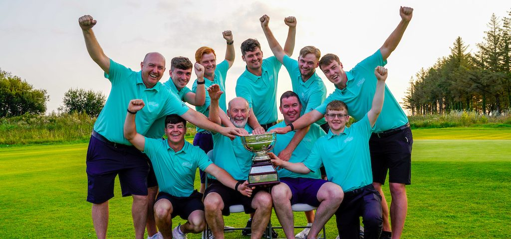 Team Connacht - winners of the Men's Interprovincial Championships  2021, Shannon Golf Club, Shannon, Clare, Ireland.  27/08/2021 Picture: Golffile | Thos Caffrey   All photo usage must carry mandatory copyright credit (© Golffile | Thos Caffrey)