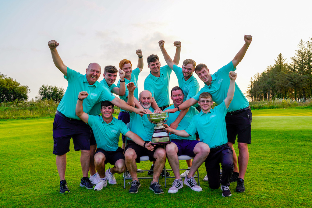 Team Connacht - winners of the Men's Interprovincial Championships  2021, Shannon Golf Club, Shannon, Clare, Ireland.  27/08/2021 Picture: Golffile   Thos Caffrey   All photo usage must carry mandatory copyright credit (© Golffile   Thos Caffrey)