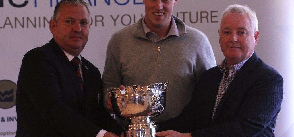 Dundalk Scratch Cup 2021 Presentation with winner Jack McDonnell